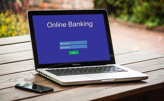 on-line bankovnictví