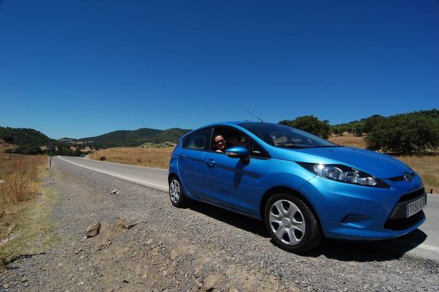 Ford na cestě