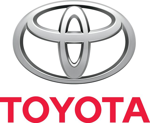znak a logo Toyota