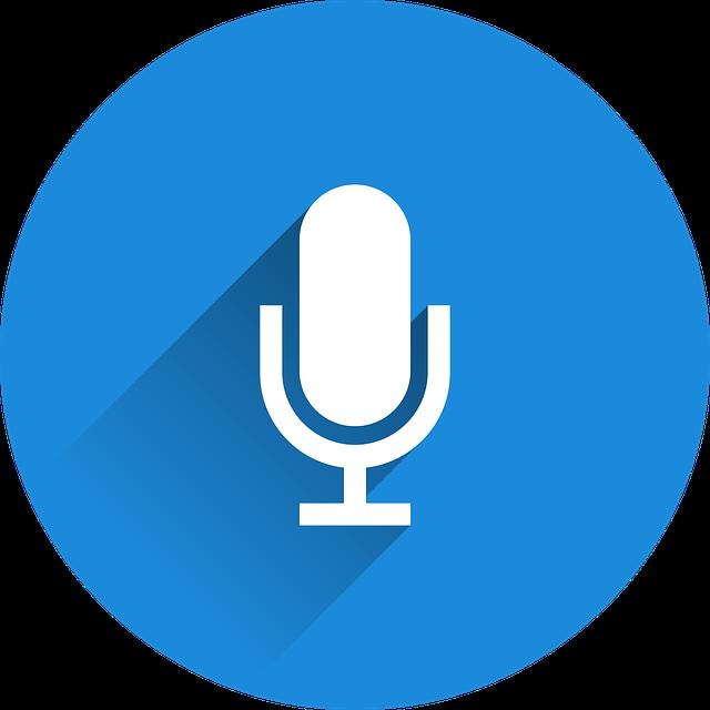 mikrofon v kolečku