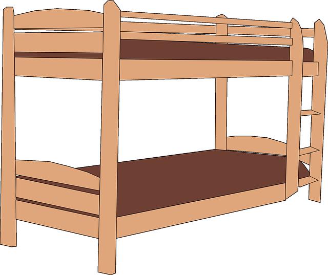 poschodová postel