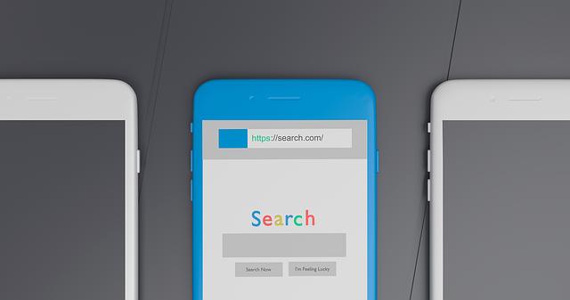 mobil a vyhledávání