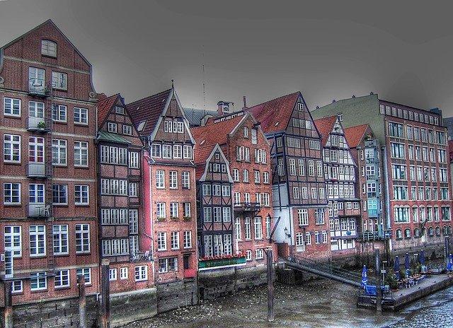 Domy v Hamburku